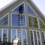 window cleaning, squeegee, property maintenance
